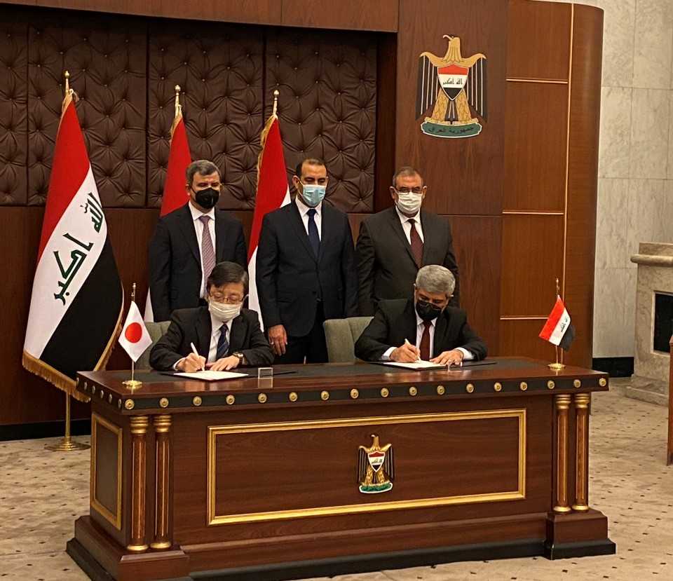 FEATURE: Japan plant builder inks deal to construct key Iraqi oil refinery Photo_l