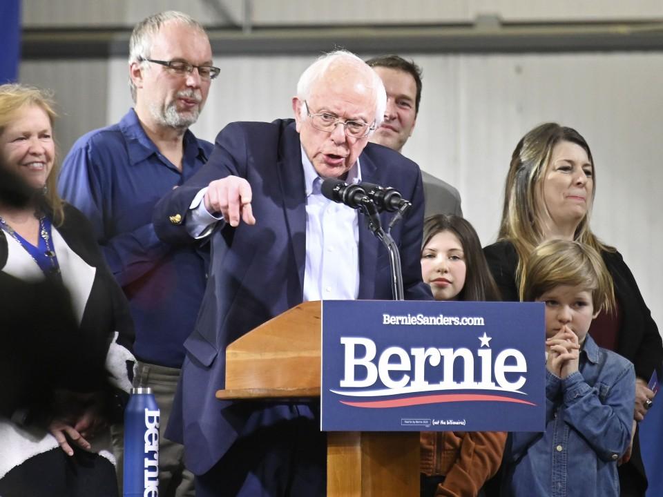 Sanders projected to win Utah Democratic primary