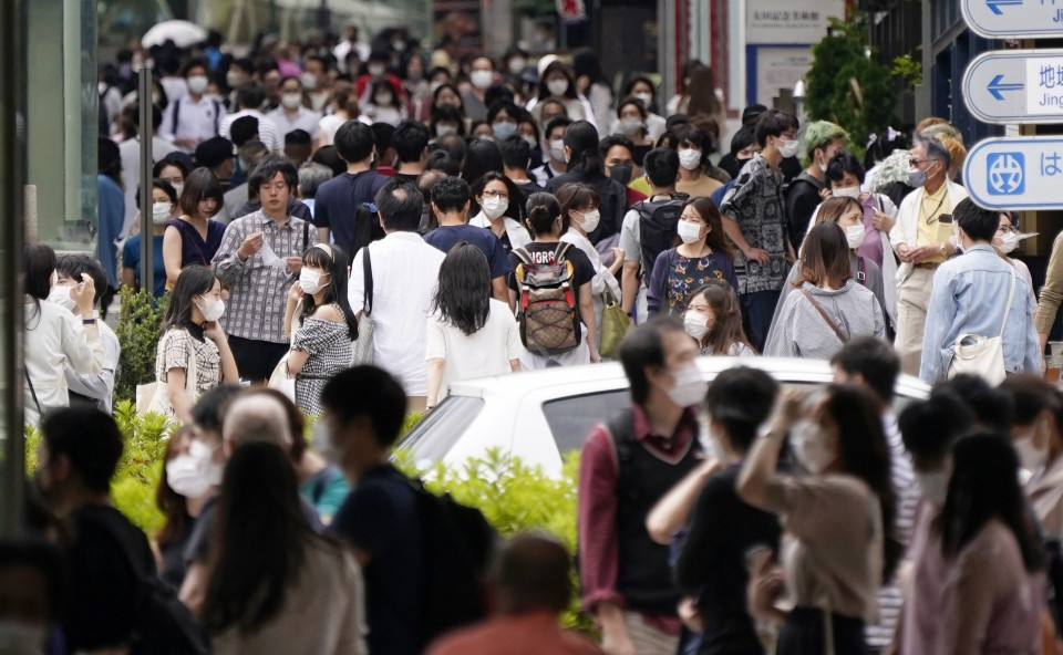Tokyo Issues Alert After New Daily COVID-19 Cases Rise to 34