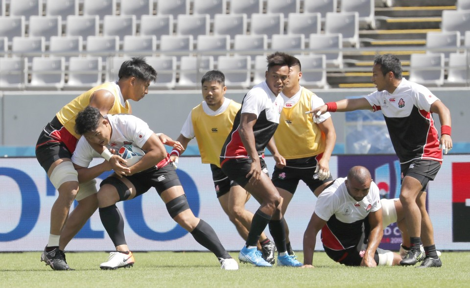 Japan beats Russian Federation in Rugby World Cup opener