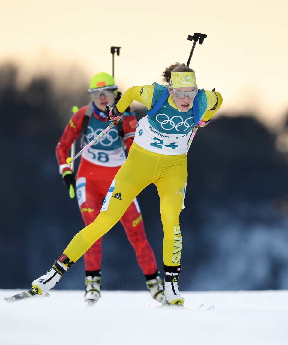 Norway claims Olympic gold in 20km individual biathlon