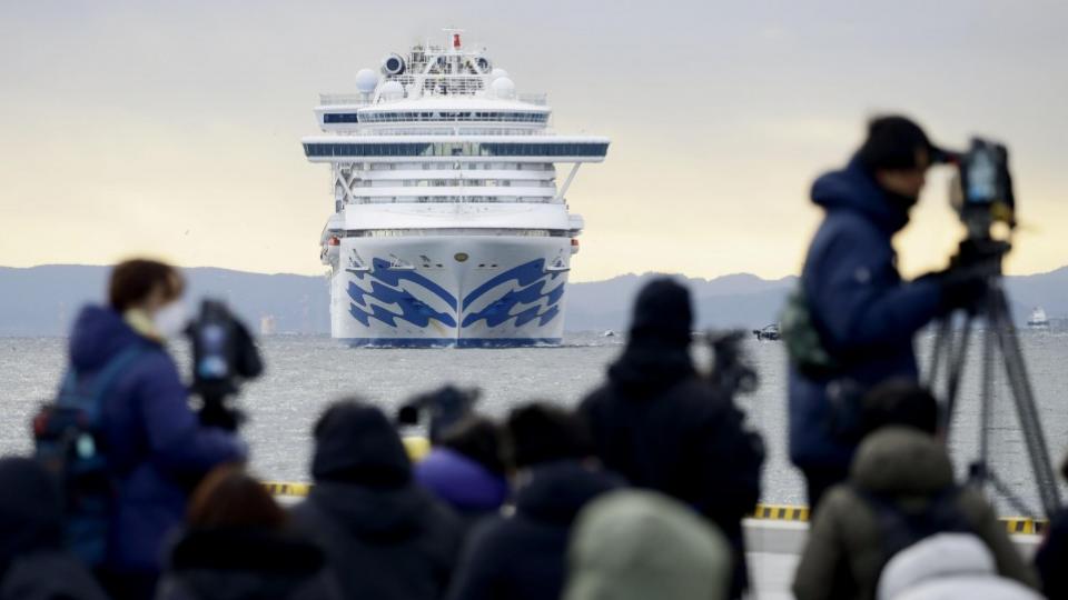 السفينة السياحية المحجورة صحياً | عبر كيودو