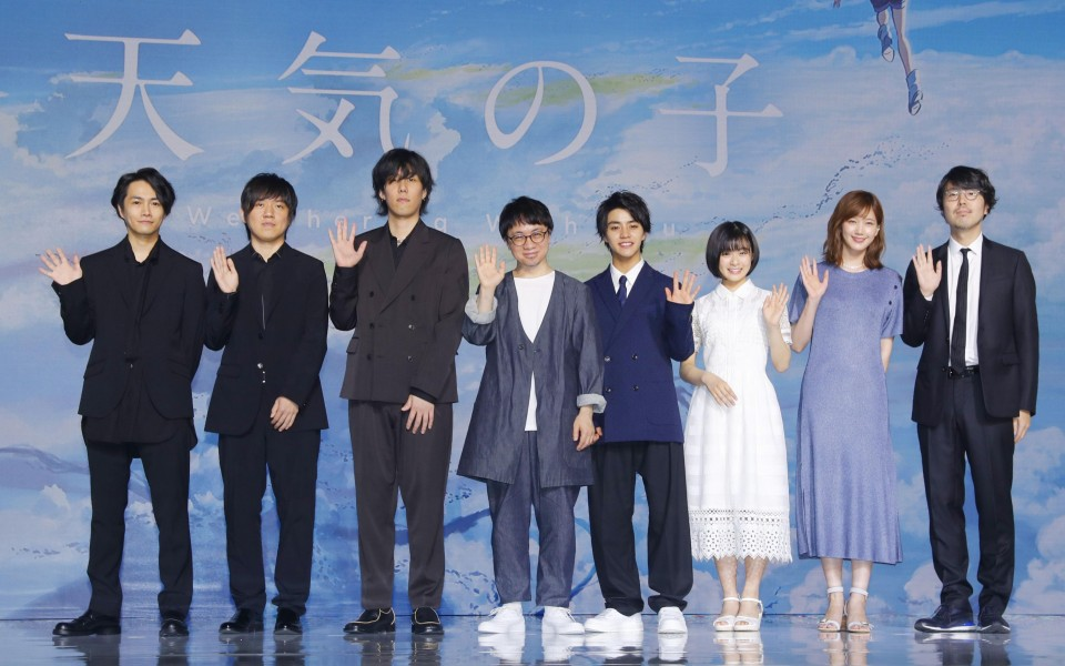 """""""your name."""" director Shinkai's new film to hit theaters next week photo"""