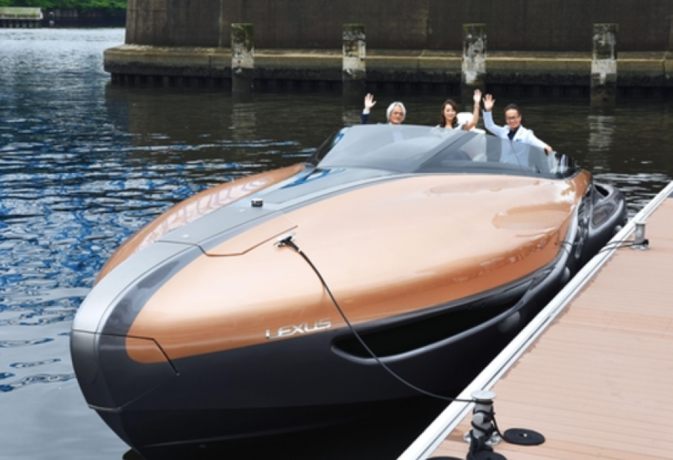 Toyota looking to sell luxury Lexus boat