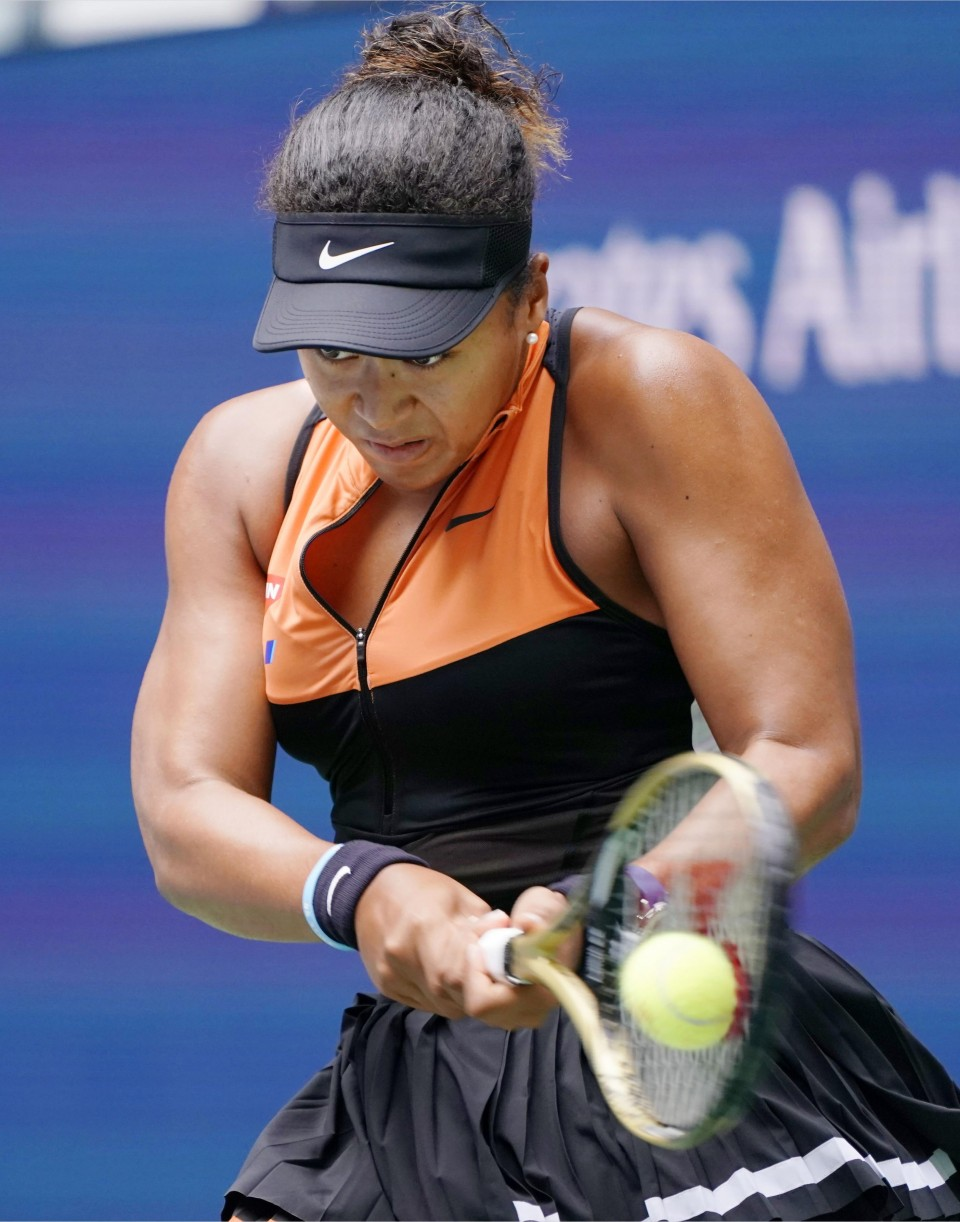 Osaka survives Blinkova battle in US Open first round