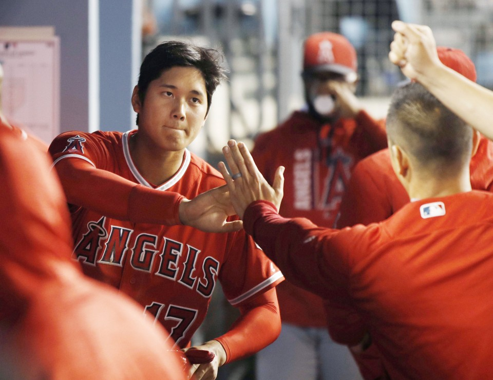 Japan's Ohtani makes Major League Baseball debut