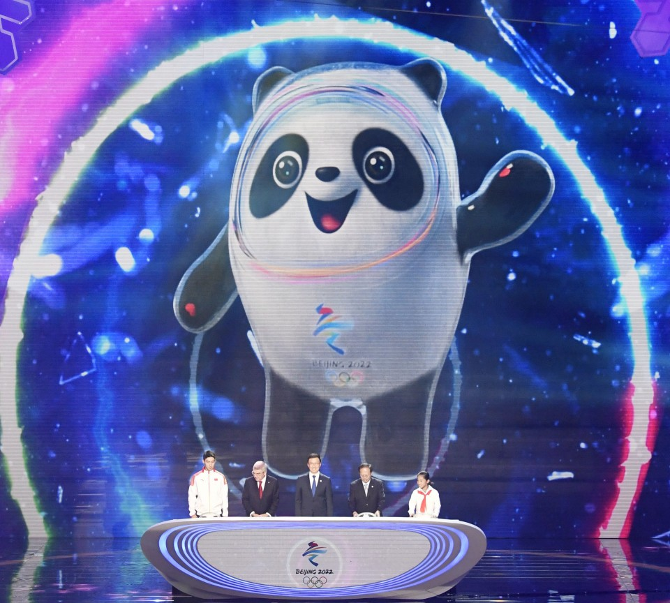 Mascot For 2020 Winter Olympics.China Unveils Panda Motif Mascot For 2022 Beijing Olympics