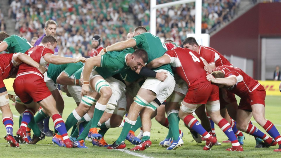Rugby Ireland Pull Off 5 Try Rout Of Russia Following Loss To Japan