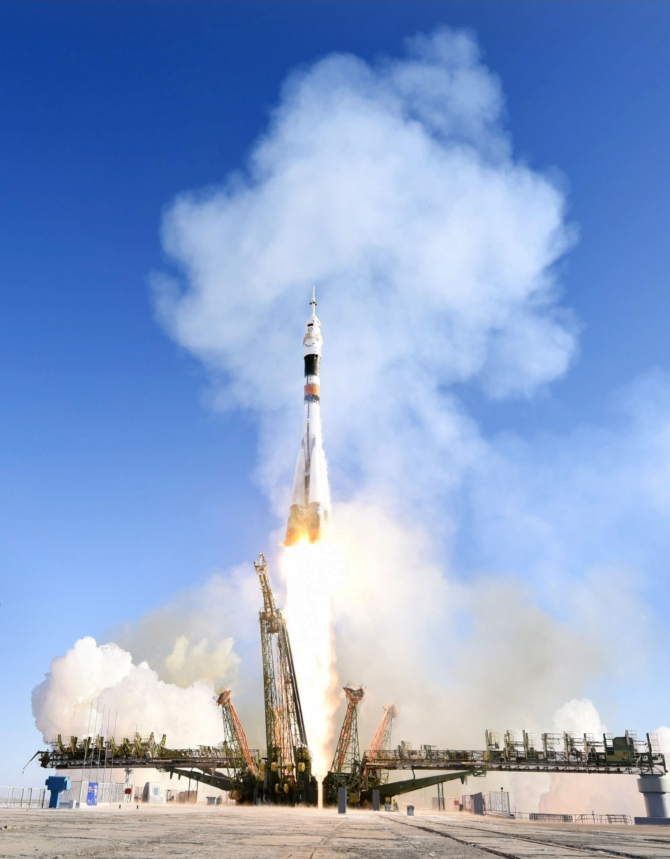 Three New Crew Members on Voyage to International Space Station