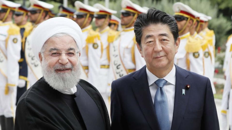 Abe's mission not yet accomplished as U S -Iran hurdles