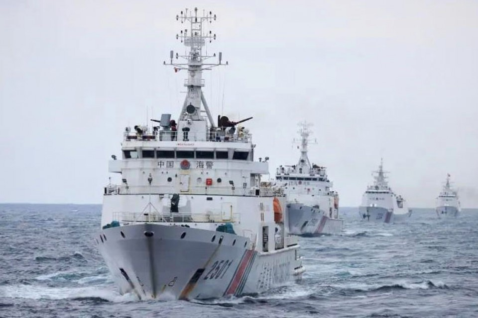 China gives coast guard power to use arms