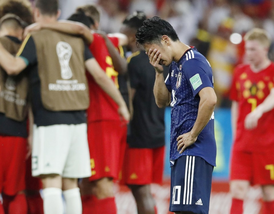 73724caee64 World Cup: Japan lost the game, but win hearts on social media