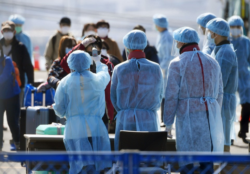 Cleared Japan cruise passenger found to be carrying coronavirus