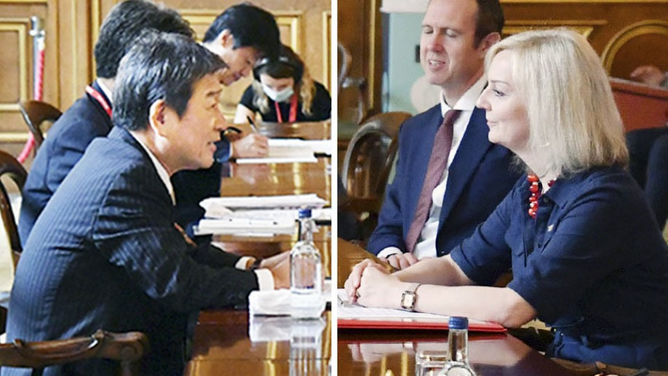 United Kingdom and Japan look to seal trade deal within month