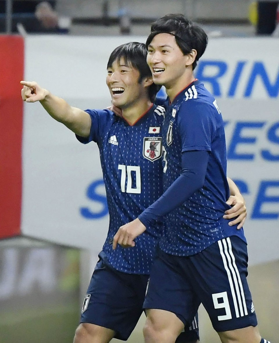 d6cb2f94e74 Football: After year of mixed fortunes, Japan face 2019 with optimism
