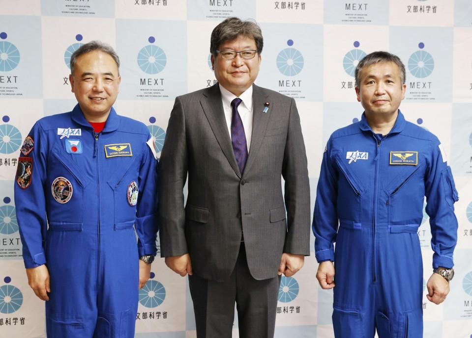 photo l - Astronauta japonês Koichi Wakata embarca em sua 5ª missão espacial