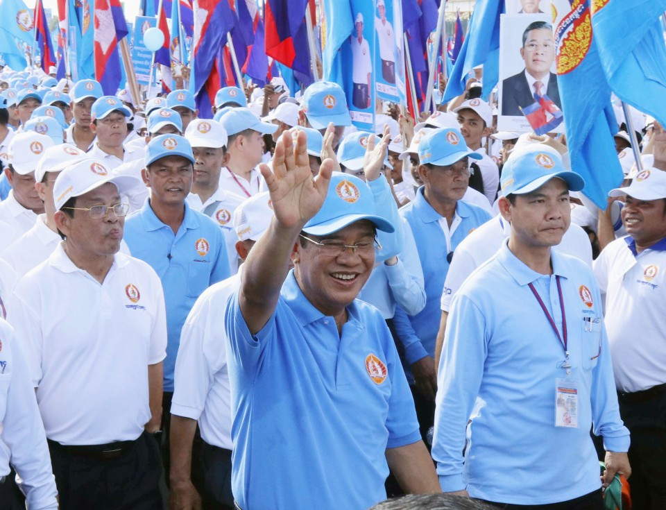 Cambodia PM Hun Sen's party wins all seats in election ...