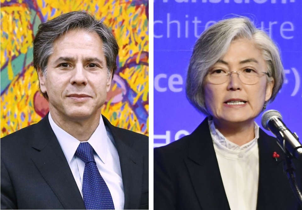 Foreign ministers of S. Korea, US hold phone talks