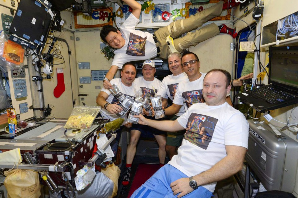 Japanese astronaut sorry for 9cm ISS growth mistake