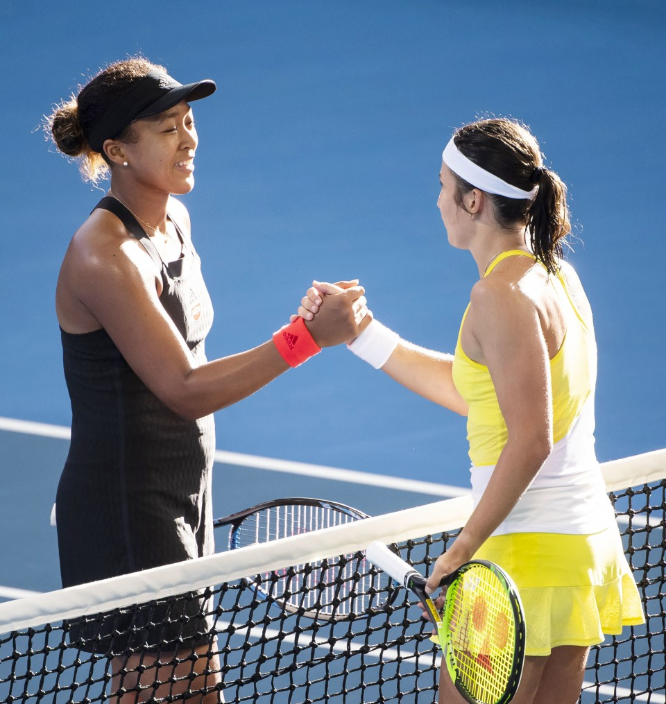 tennis  osaka advances to semifinals in brisbane