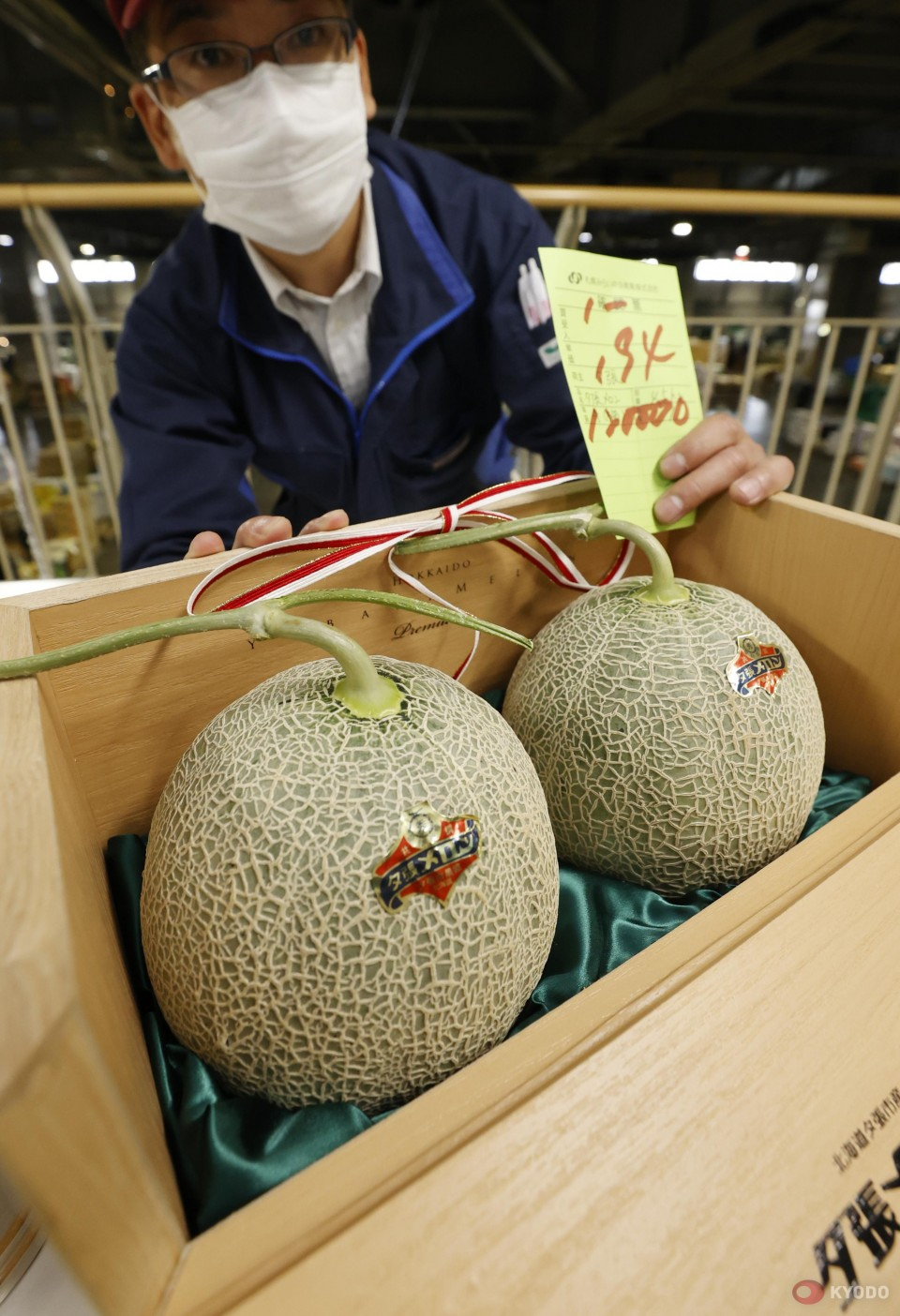 Price Of Hokkaido Melons At Season S 1st Auction Drops Sharply We are cantaloupe, a young, interdisciplinary team consisting of 3d artists, engineers and software developers. price of hokkaido melons at season s