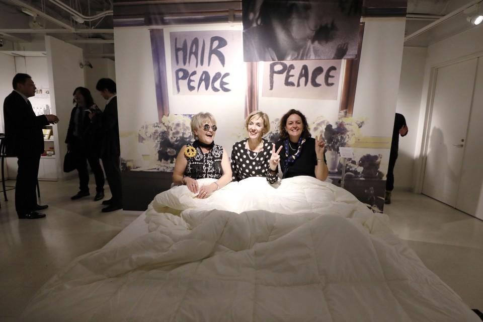 """TOKYO Y LA """"BED-PEACE"""" DE JOHN Y YOKO"""