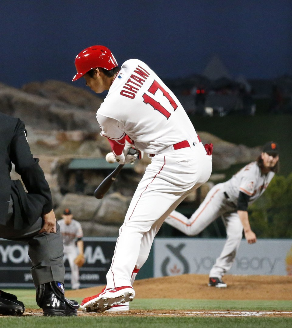 Ohtani no longer bothered by blister, will start Tuesday in Houston