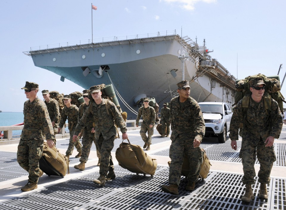 Dozens of US Marines in Japan's Okinawa get coronavirus