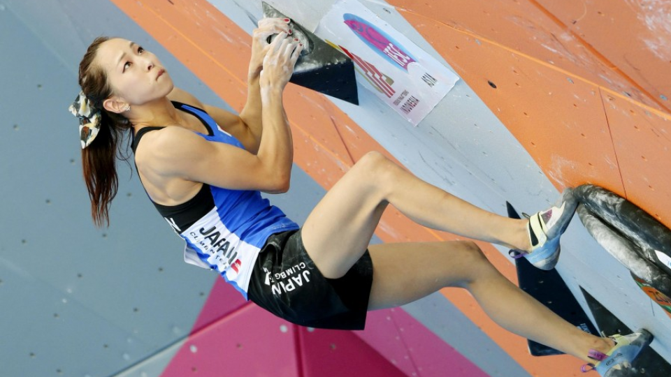 Asian Games 2020.Asian Games Noguchi Wins Sport Climbing Gold In Test Ahead
