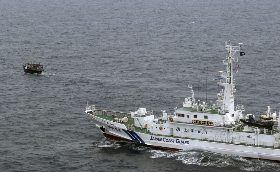 North Korean fishing boat's crew rescued after colliding with Japanese ship