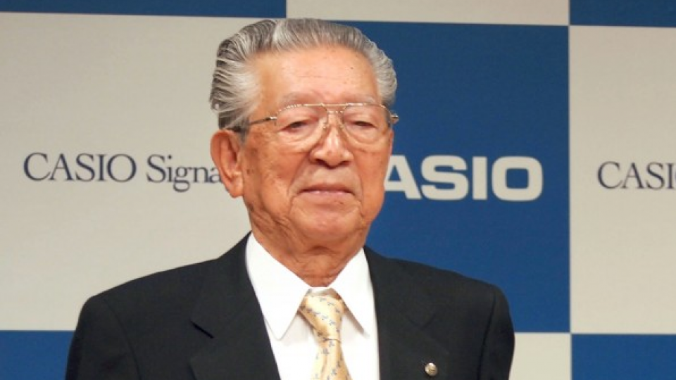 reputable site 71911 8915c Kazuo Kashio, CEO of G-Shock watch maker Casio, dies at 89