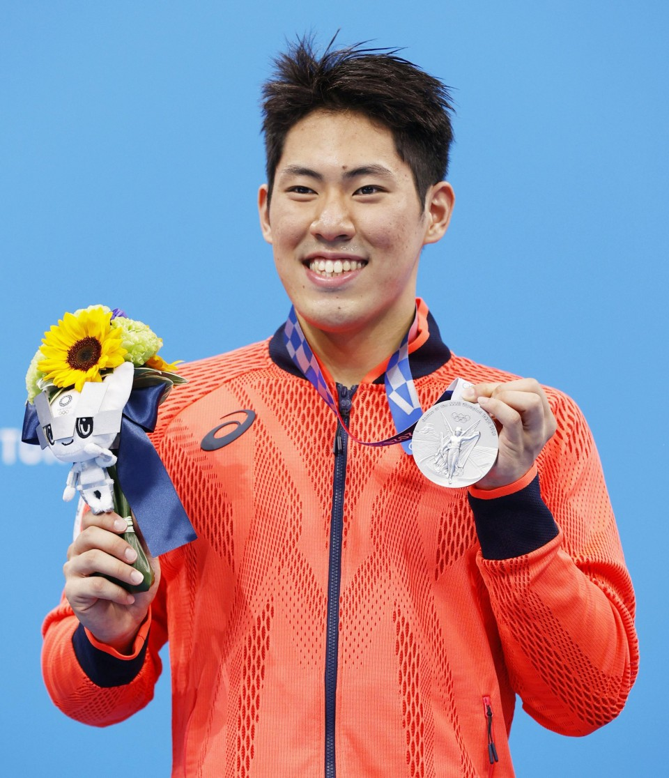 Olympics:Japan's Tomoru Honda motors to shock silver in men's 200 butterfly