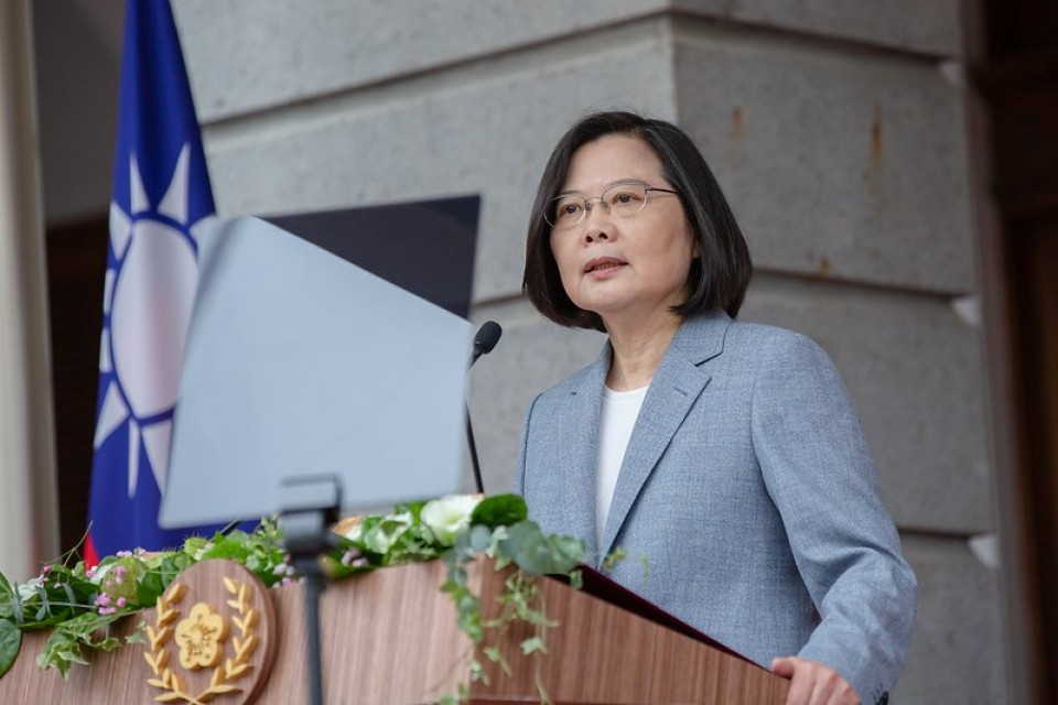 Tsai says China must 'coexist' with a democratic Taiwan