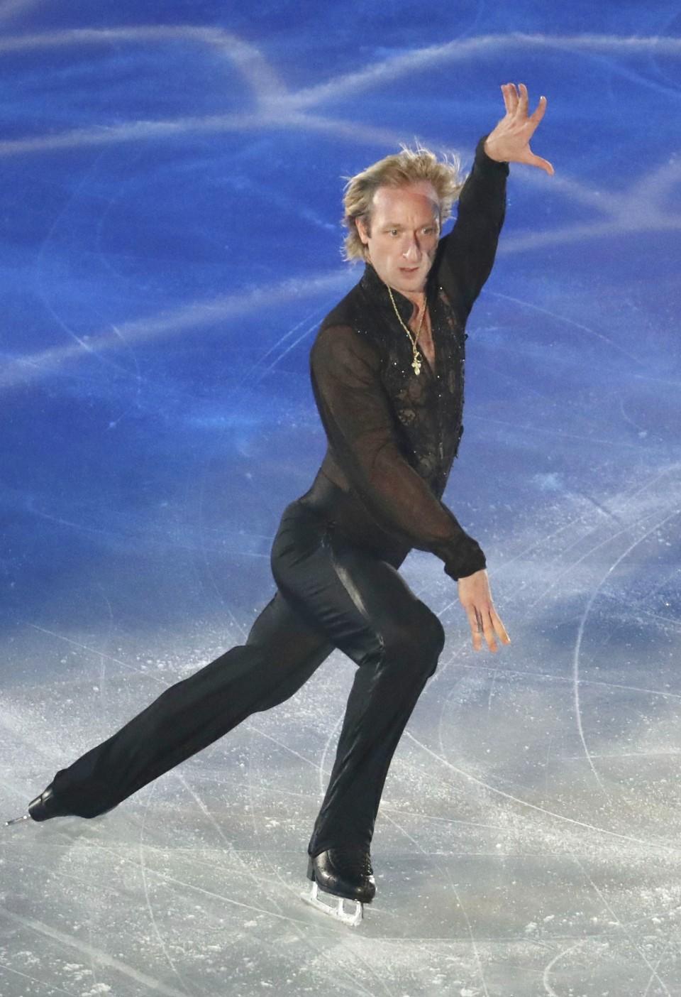 Evgeni Plushenko returned to the big sport 52