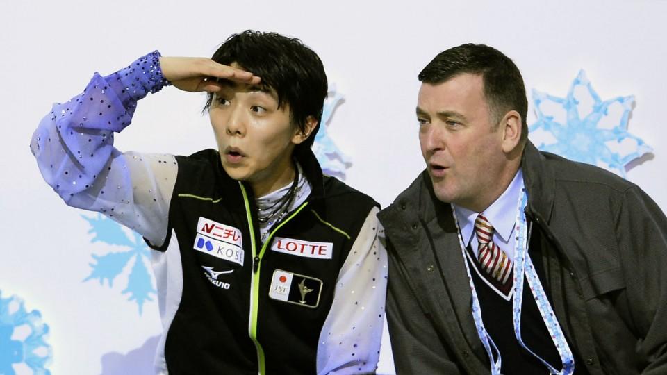 Brian Orser Yuzuru Hanyu