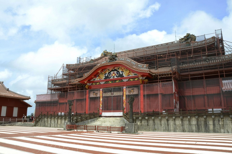 Blaze Virtually Destroys Okinawa's World Heritage-Listed Shuri Castle