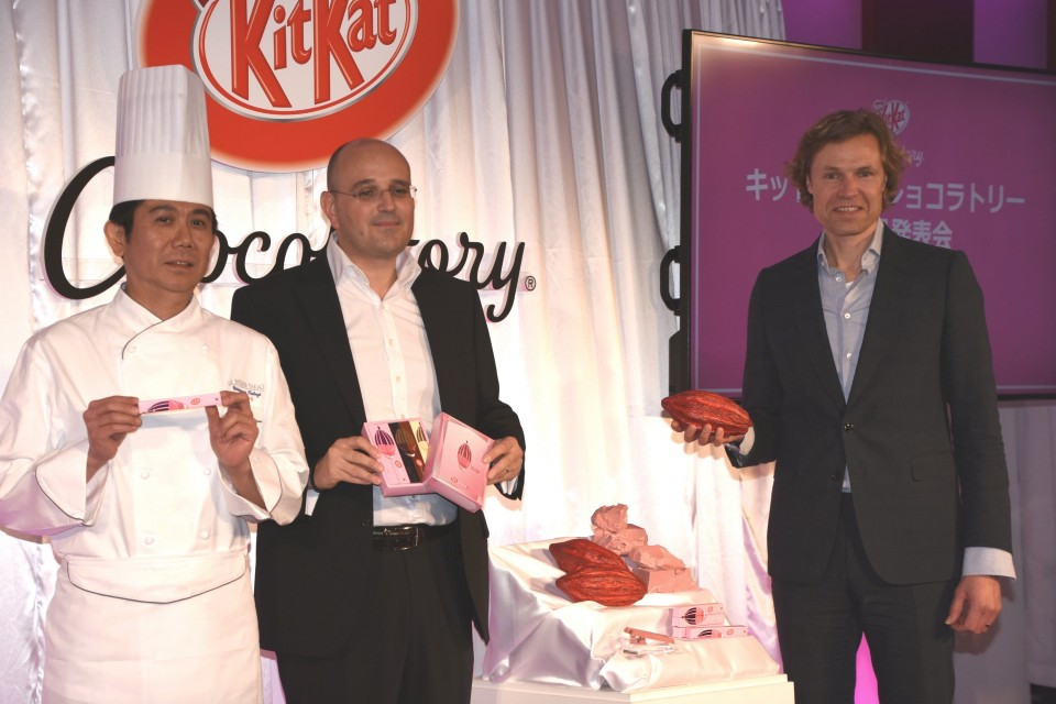 World's first Ruby KitKat drops in Japan for Valentine's Day