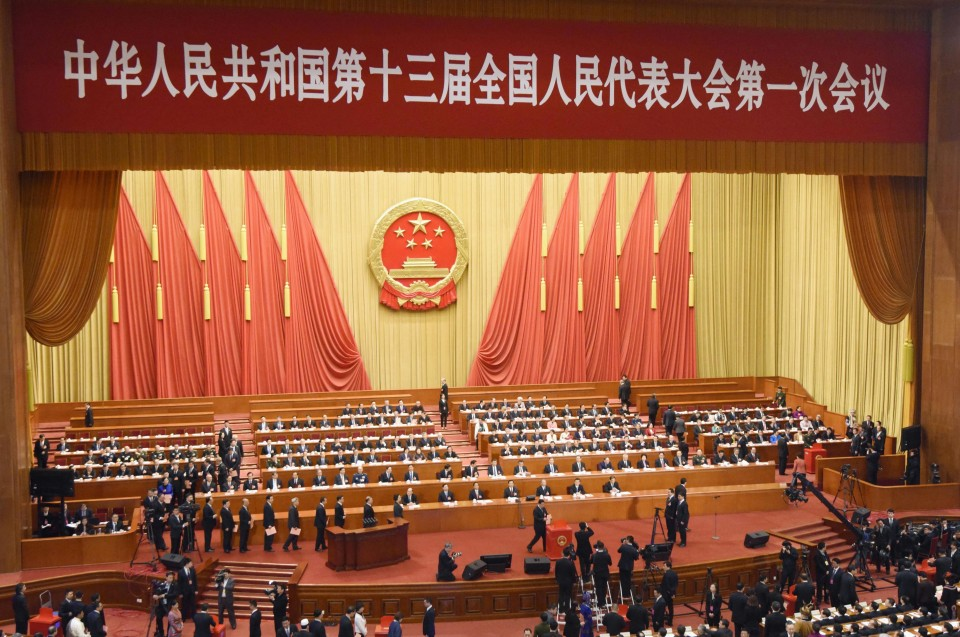 China's Congress reappoints Premier Li Keqiang and names new anti-graft watchdog