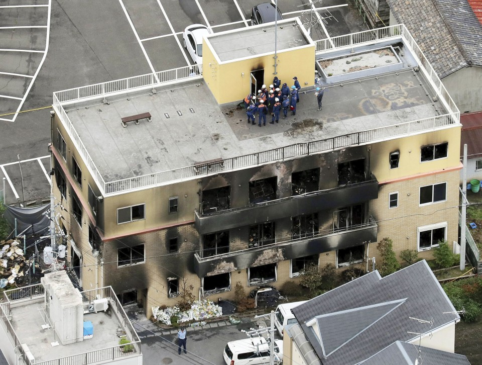 Officials hunt for reasons behind Kyoto Animation fire that killed 34