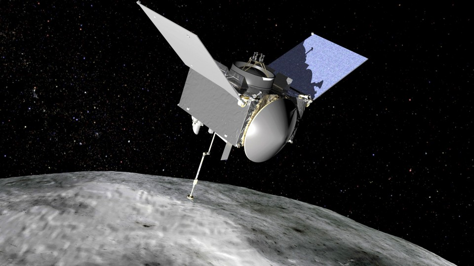 Nasa probe closes in on asteroid that could collide with Earth