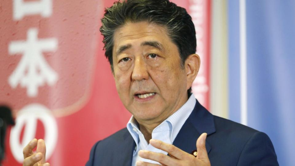 56% oppose amending Constitution under Abe gov't: Kyodo poll