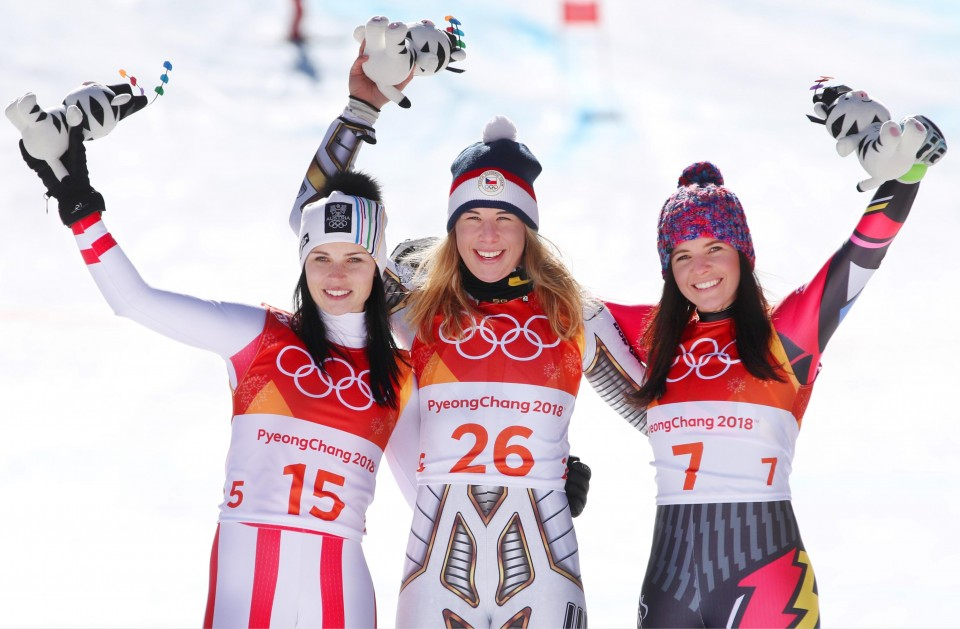 Lindsey Vonn Super-G Live Results: Back at the Olympics