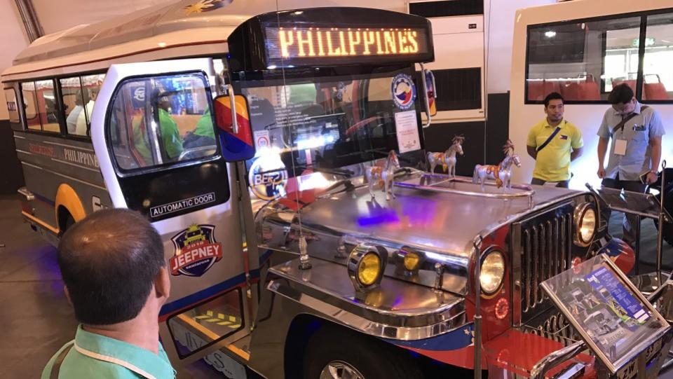 Philippines Begins Jeepney Transformation