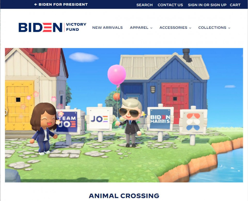 Biden S Campaign Expands To Animal Crossing Game Realm