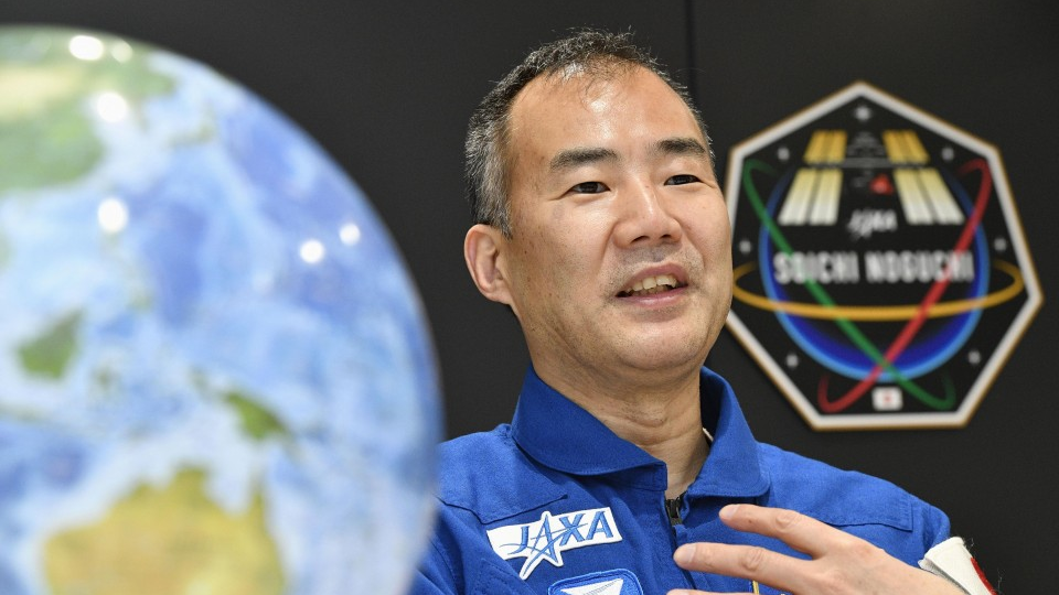 Japan astronaut Noguchi to return to ISS aboard Space X's ship - Kyodo News Plus