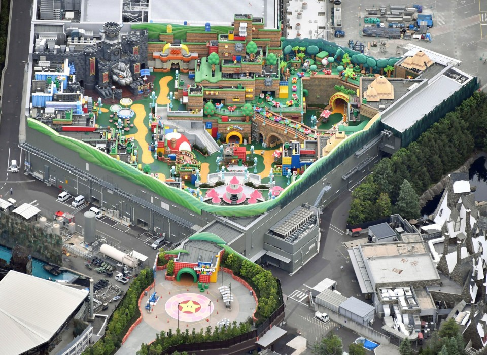 Super Nintendo World Opening Set for Spring 2021