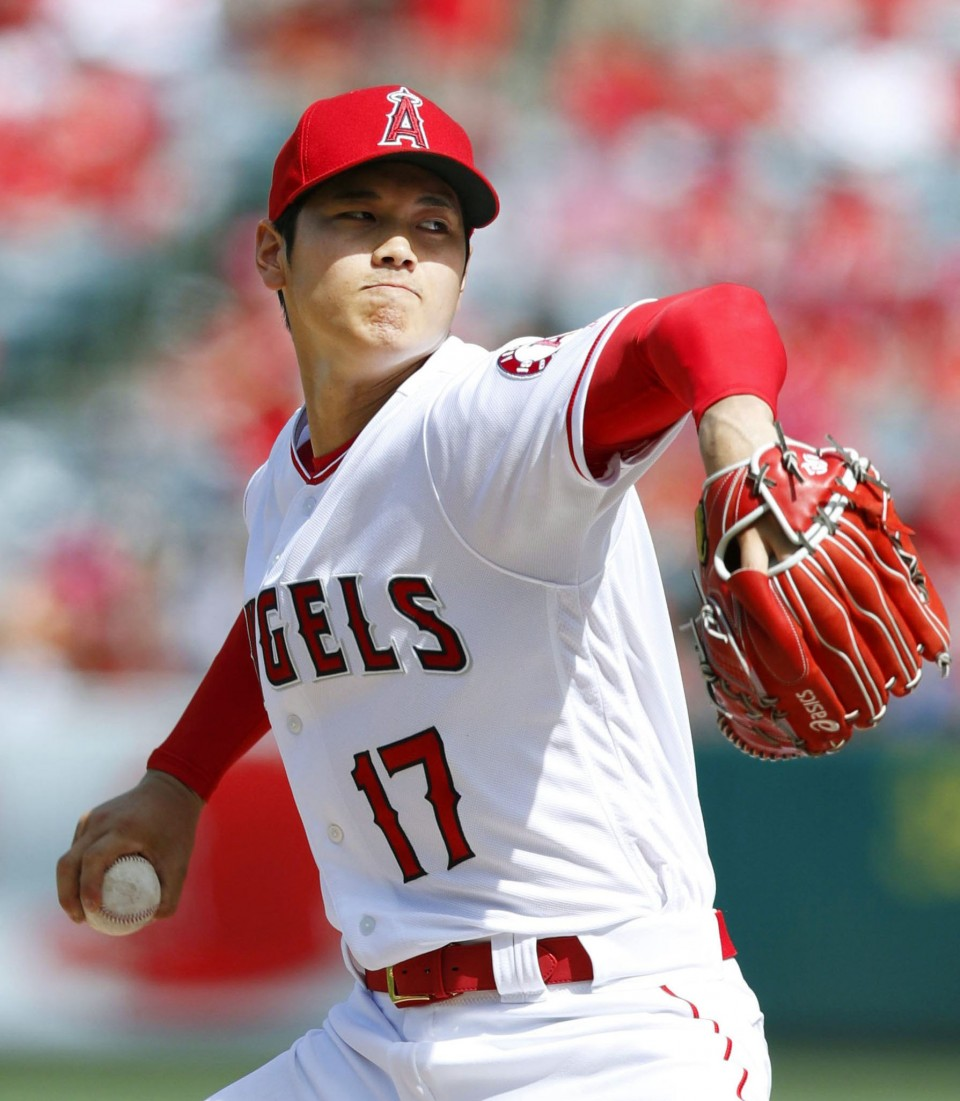 Ohtani named AL Player of the Week