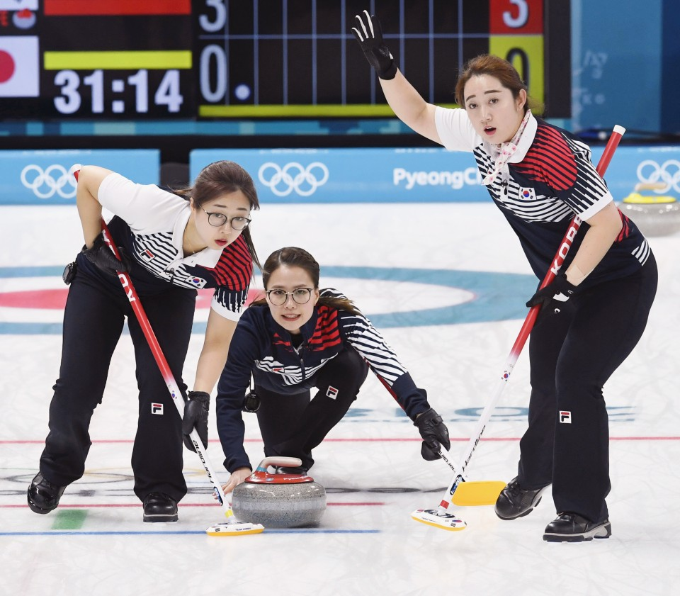 South Korean Women Win Thriller In Curling, Putting 'Garlic' Gold In Reach