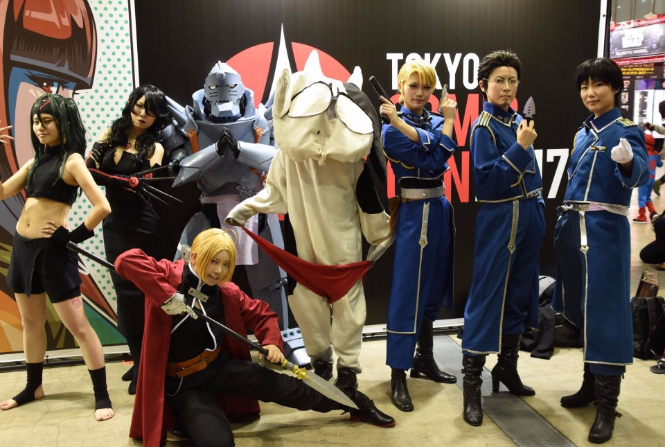 Invited To Attend Tokyo Comic Con 2017 After Taking Part In A Campaign On Twitter The Group Expressed Confidence That Event Which They Collectively