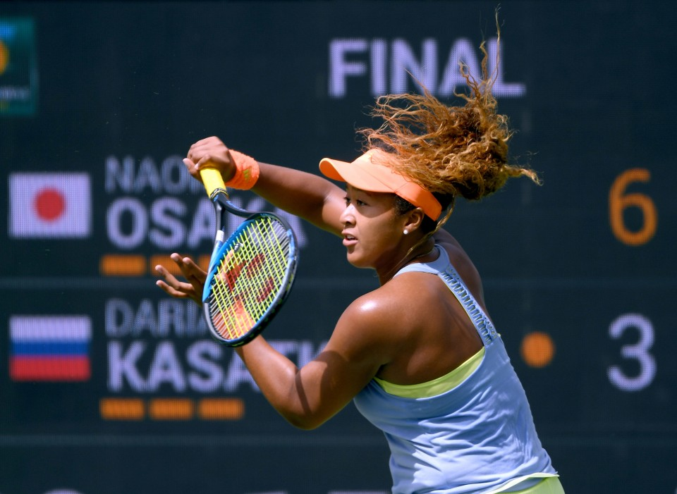 Osaka Beats Kasatkina 6-3, 6-2 to Win Indian Wells Title